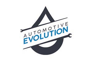 The official logo for automotive evolution