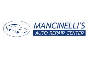 The official logo for mancinelli's auto repair center