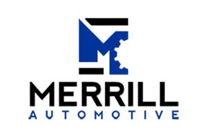 The official logo for merrill automotive