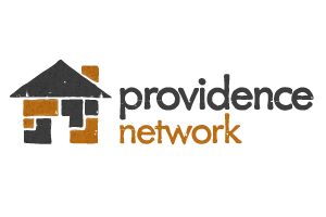The official logo for providence network