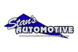 The official logo for stans automotive