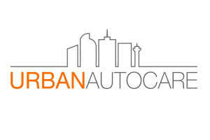 The official logo for urban autocare