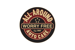 The official logo for all around auto care