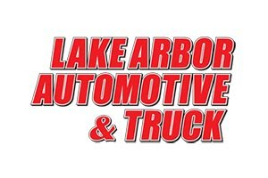 The official logo for lake arbor automotive
