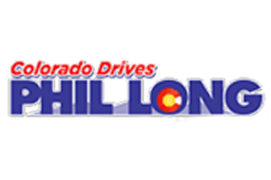 The official logo for phil long autos
