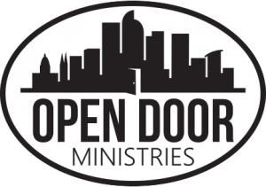 The official logo for open door ministries