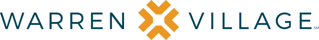 The official logo for warren village